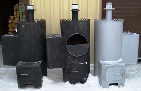 Котлы из трубы для бани